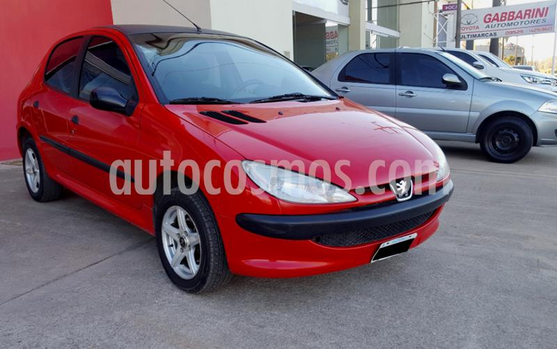 Peugeot 206 1.4 XR Pack 5P usado (2010) color Rojo precio $360.000
