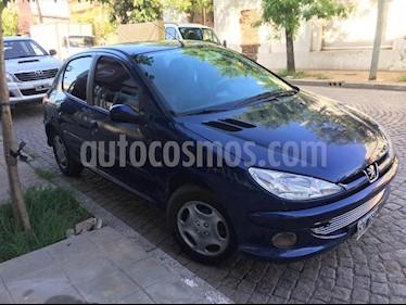 Peugeot 206 1.4 XR Pack 5P usado (2007) color Azul precio $219.000