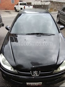 Peugeot 206 black and silver usado (2008) color Negro precio u$s3.200