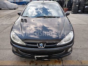 Peugeot 206 CC usado (2007) color Negro precio $75,000