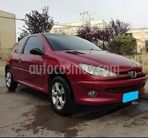 Peugeot 206 3P 1.4 HDI VU usado (2004) color Rojo precio $2.490.000