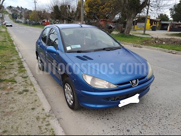 Peugeot 206 5P XR Ac usado (2006) color Azul Electrico precio $2.100.000