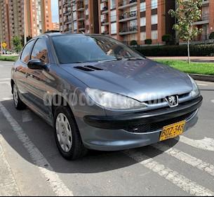 Peugeot 206+ 1.4L usado (2004) color Azul precio $12.500.000