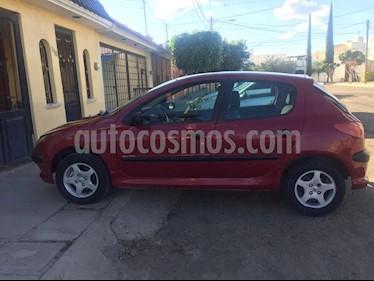 Peugeot 206 5P XR 1.6 usado (2005) color Rojo precio $39,000