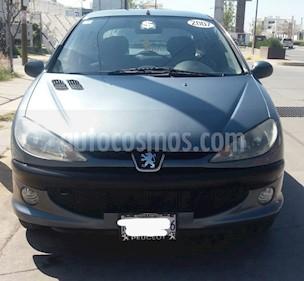 Peugeot 206 3P D-sign 1.6 usado (2007) color Gris precio $46,500