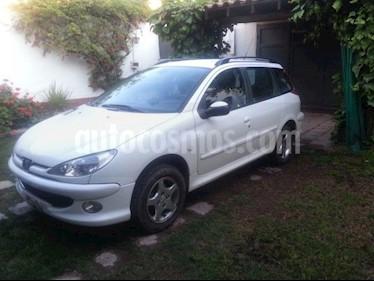 Foto venta Auto usado Peugeot 206 SW 1.6 XS Premium (2006) color Blanco precio $170.000