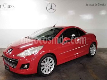 Peugeot 207 CC Turbo Piel usado (2011) color Rojo precio $129,000