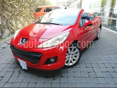 Peugeot 207 CC Turbo Piel usado (2013) color Rojo precio $180,000