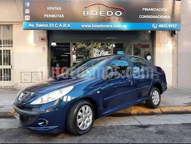 Peugeot 207 Compact - usado (2010) color Azul precio $259.900