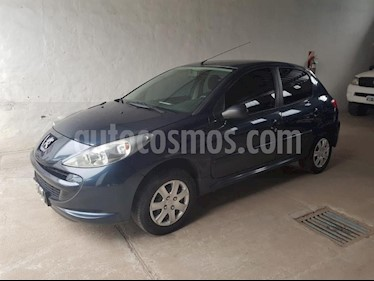 Foto Peugeot 207 Compact 1.4 Active 4P usado (2014) color Azul precio $325.000