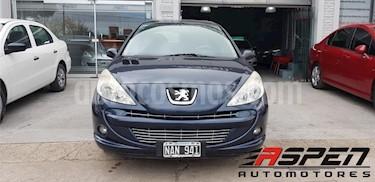 Peugeot 207 Compact 1.4 Allure 5P usado (2013) color Azul precio $330.000