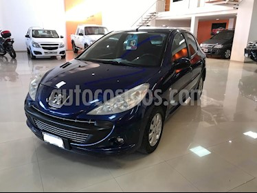 Peugeot 207 Compact 1.4 Allure 5P usado (2010) color Azul precio $260.000