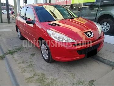 Peugeot 207 Compact 1.4 Allure 5P usado (2014) color Rojo precio $330.000