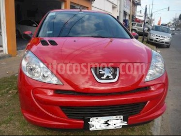 Peugeot 207 Compact 5 P 1.4 N ALLURE usado (2015) color Rojo precio $350.000