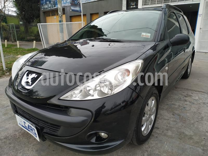 Peugeot 207 Compact 1.6 XS SW usado (2011) color Negro Perla precio $458.000