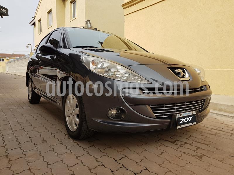 Peugeot 207 Compact 1.4 HDi Allure 5P usado (2012) color Gris Grafito precio $690.000