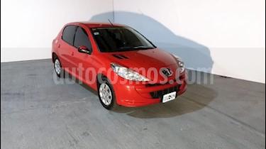 Peugeot 207 Compact 1.4 Active 4P usado (2014) color Rojo precio $395.000