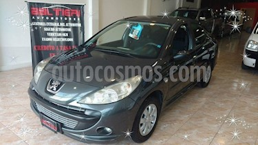 Peugeot 207 Compact 1.4 Allure 5P usado (2011) color Gris Oscuro precio $340.000