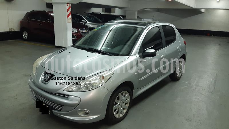 Peugeot 207 Compact 1.4 HDi XT 5P usado (2011) color Gris precio $450.000