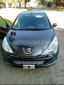 Peugeot 207 Compact 1.4 Allure 5P usado (2012) color Verde precio $415.000