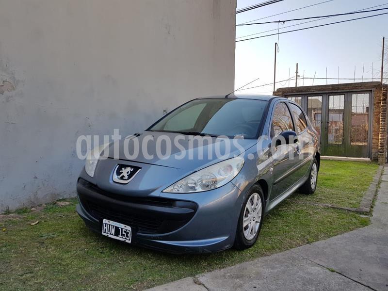Peugeot 207 Compact 1.4 XR 5P usado (2009) color Gris Aluminium precio $370.000