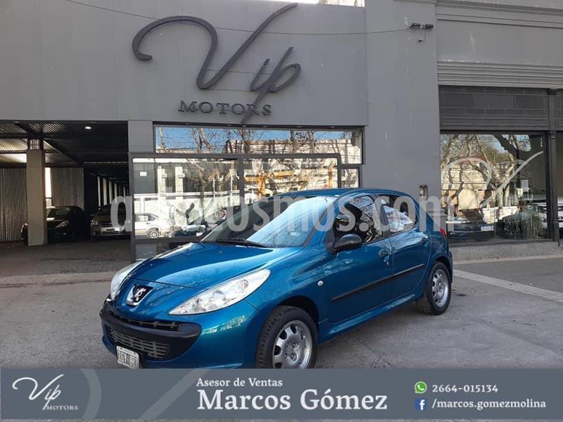 Peugeot 207 Compact 1.4 Active 4P usado (2009) color Azul Celeste precio $480.000