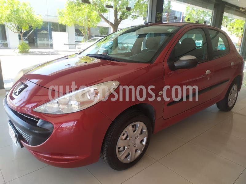 Peugeot 207 Compact 1.4 XR 4P usado (2010) color Rojo precio $600.000