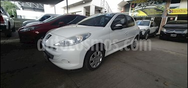 Peugeot 207 Compact 1.4 Active 4P usado (2013) color Blanco precio $455.000
