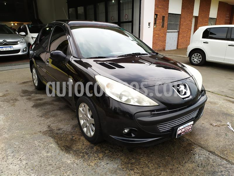 Peugeot 207 Compact 1.6 XT Tiptronic 5P usado (2011) color Negro Perla precio $520.000