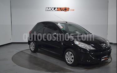 Peugeot 207 Compact 1.4 XR 3P usado (2011) color Negro Perla precio $315.000
