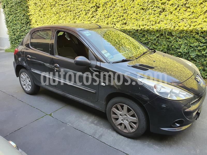 Peugeot 207 Compact 1.6 Allure 5P usado (2013) color Negro precio $450.000