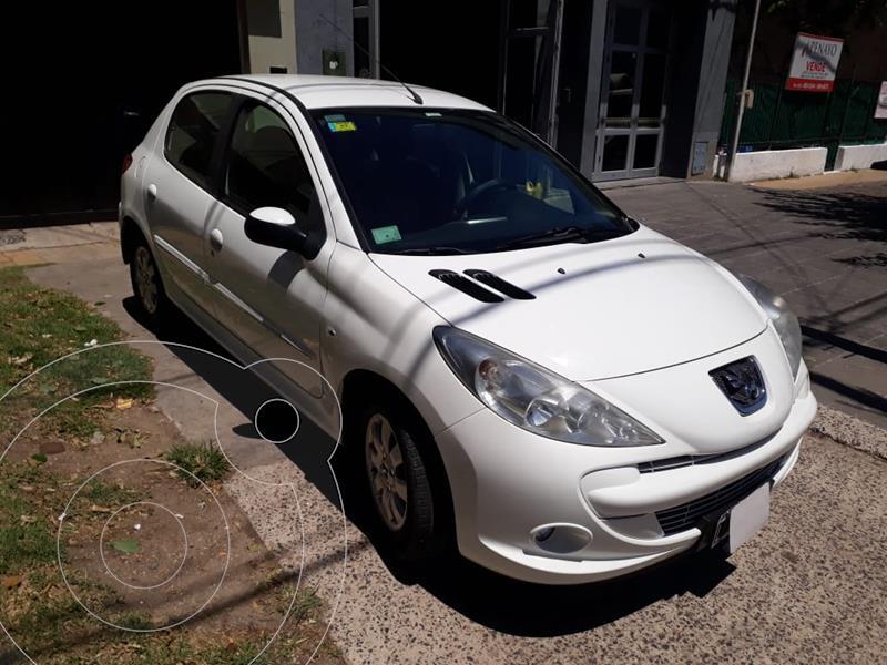 Peugeot 207 Compact 1.4 XS 5P usado (2012) color Blanco Banquise precio $640.000