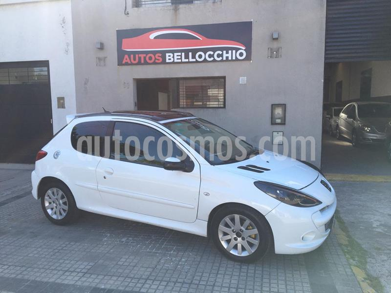 Peugeot 207 Compact 1.6 XT Premium 4P usado (2011) color Blanco Banquise precio $550.000