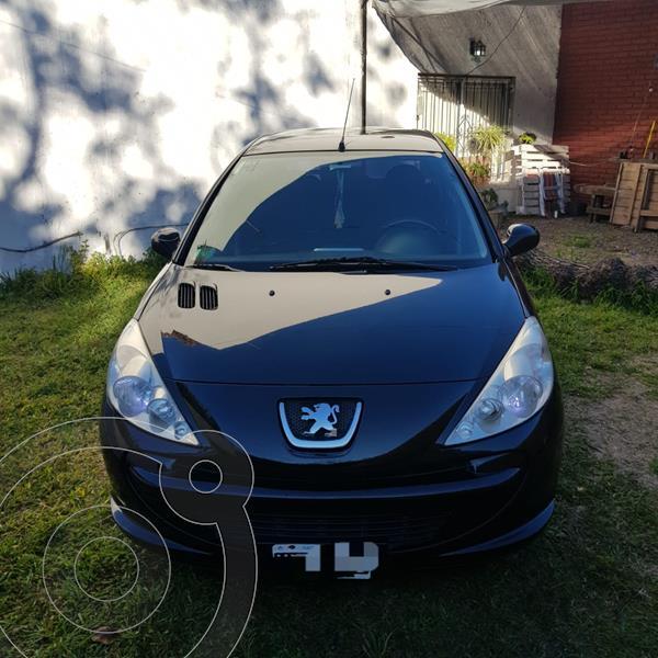 Peugeot 207 Compact 1.4 Allure 5P usado (2013) color Negro Perla precio $630.000