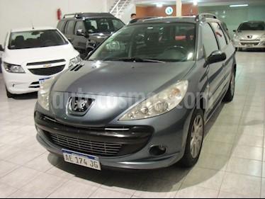 Peugeot 207 Compact Sw Xt 1.6 usado (2009) color Gris precio $374.900