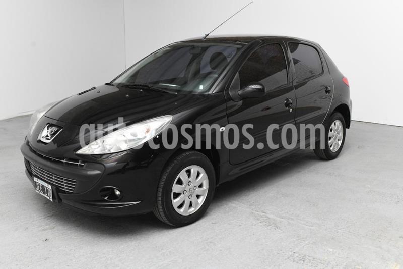 Peugeot 207 Compact 1.4 Allure 5P usado (2010) color Negro precio $480.000