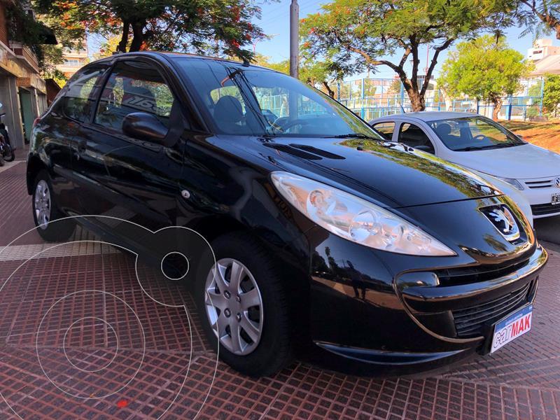Peugeot 207 Compact 1.4 Active 3P usado (2012) color Negro Perla precio $719.990