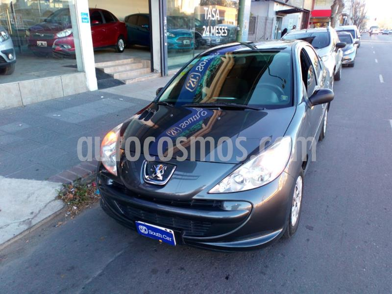Peugeot 207 Compact 1.4 XR 4P usado (2014) color Gris Oscuro precio $605.000