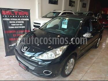 Peugeot 207 Compact 1.4 HDi XT 4P usado (2011) color Negro precio $350.000