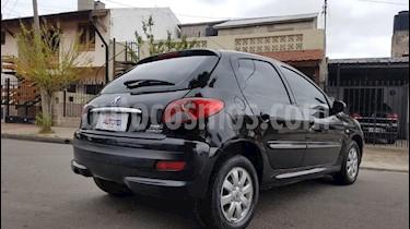 Peugeot 207 Compact 1.4 HDi Allure 5P usado (2012) color Negro precio $345.000