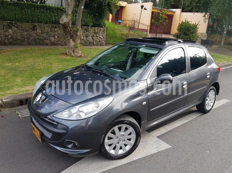 Peugeot 207 Compact 1.6L XR usado (2011) color Gris Fer precio $20.500.000