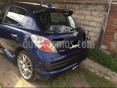 Peugeot 207 5P 1.6 Sport  usado (2013) color Azul precio $4.990.000