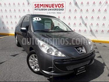 Foto venta Auto usado Peugeot 207 5P Feline (2011) color Gris precio $92,000