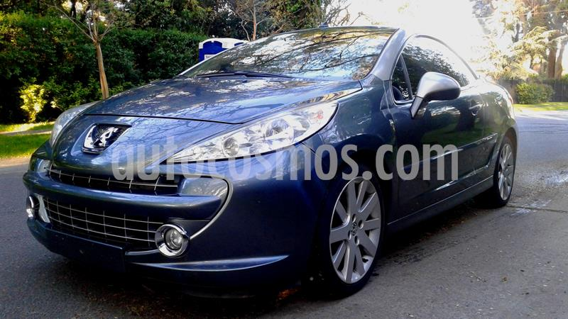 Peugeot 207 CC (150Cv) usado (2009) color Gris Thorium precio $1.600.000