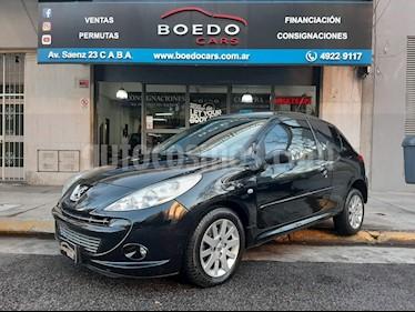 Peugeot 207 Compact 3Ptas. 1.6 N Feline / XT (110cv) usado (2012) color Negro precio $445.000