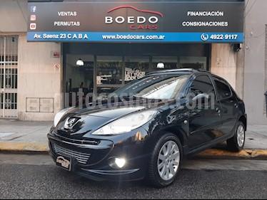 Peugeot 207 - usado (2009) color Negro precio $410.000