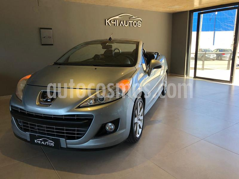 Peugeot 207 CC (150Cv) usado (2010) color Gris precio u$s10.500