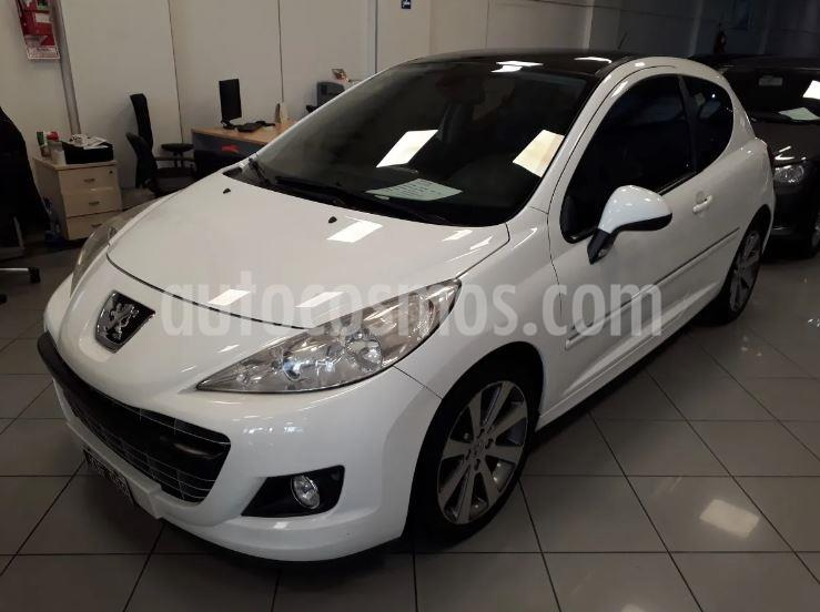 Peugeot 207 GTi 3P usado (2011) color Blanco precio $703.900