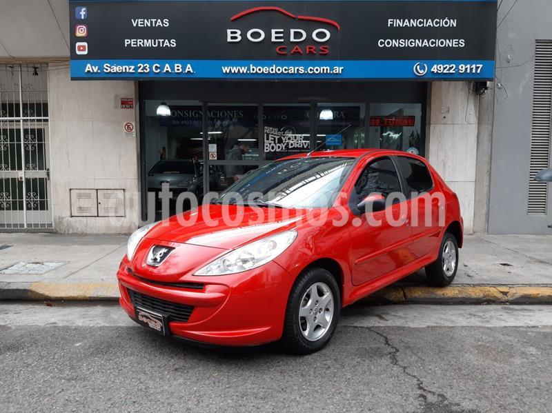 Peugeot 207 Active 1.4 usado (2014) color Rojo precio $499.000