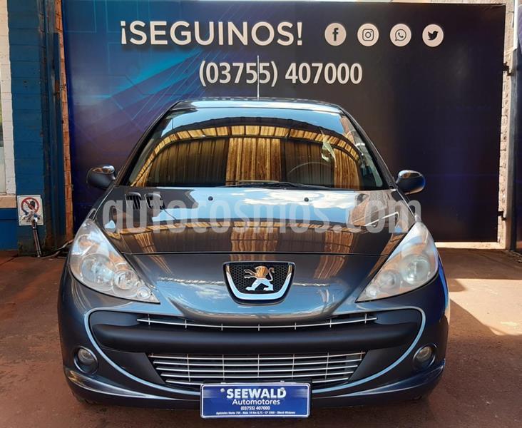 Peugeot 207 Compact 4Ptas. 1.6 N Feline / XT (110cv) usado (2009) color Gris Oscuro precio $656.000